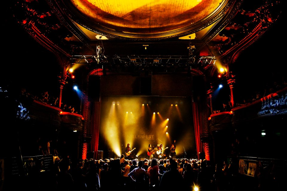 Music Venue, La Cigale in Paris France