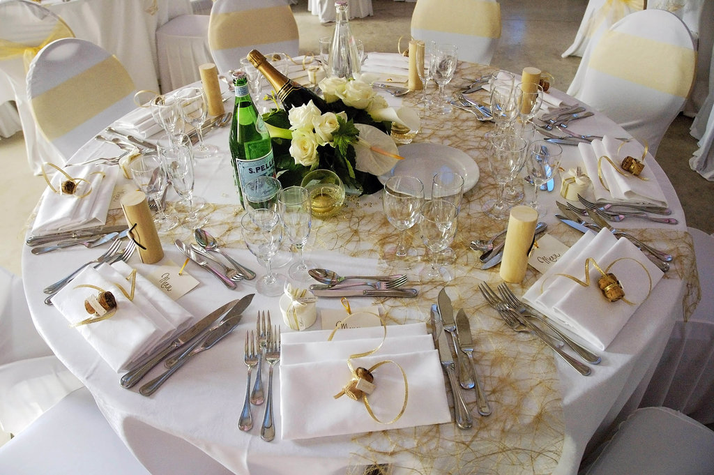 Wedding M&S Table Setting