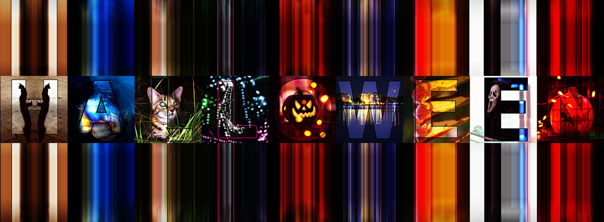 facebook banner - Halloween - SPEED MOTION BLUR - 100 ppi