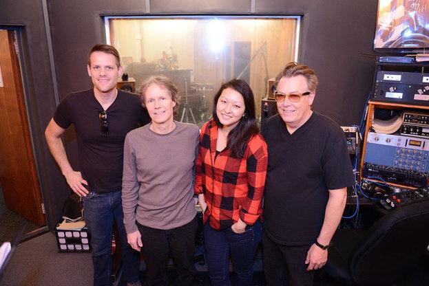 Musicians at Gold River Studios