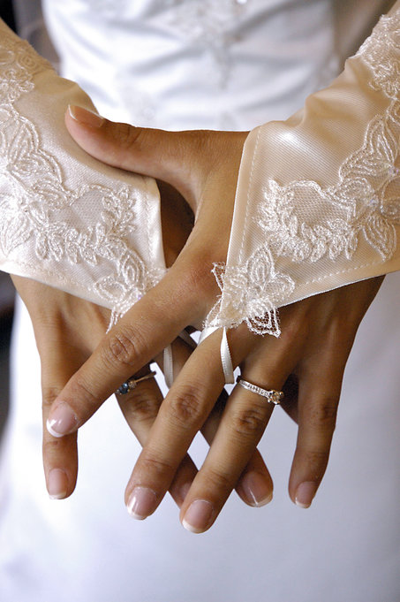 Wedding Adine's Hands