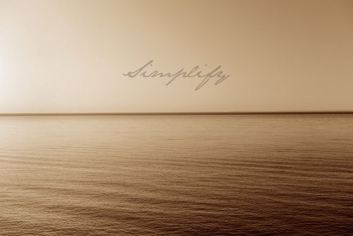 Lake Superior- Feeling Complete- Simplify. Landscape photography.