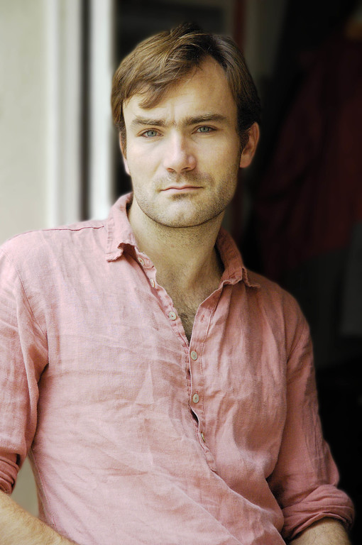 Actor Portrait Thibault Rose Shirt