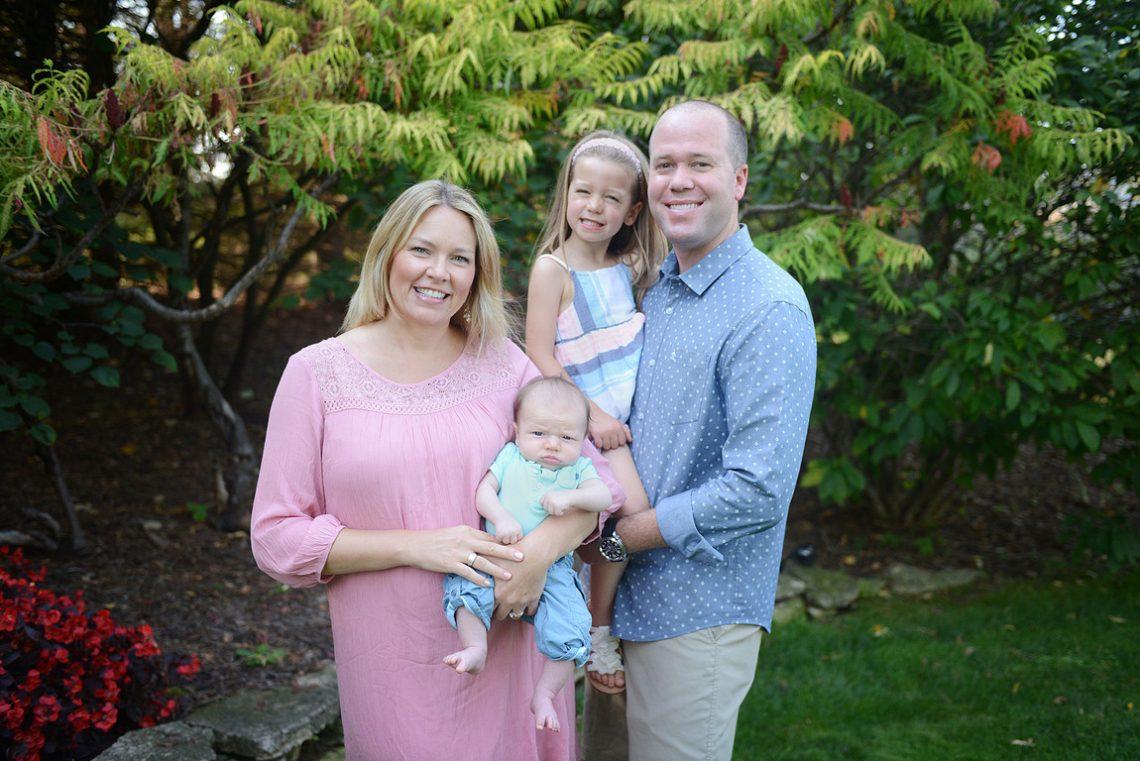 Family portrait TK sister standing