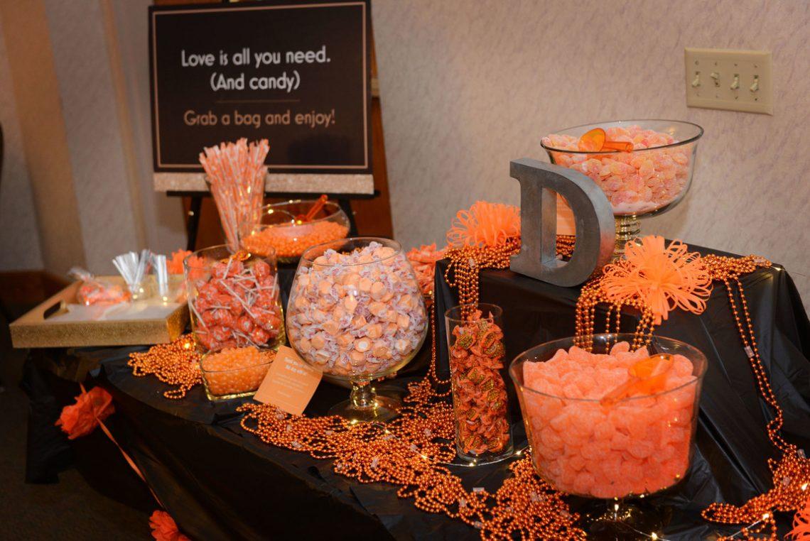 Weddings J&K Candy Bar
