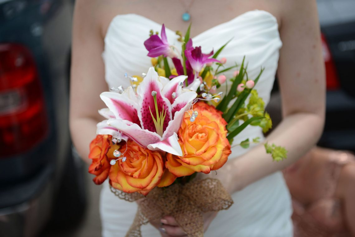 Weddings S&J her flowers