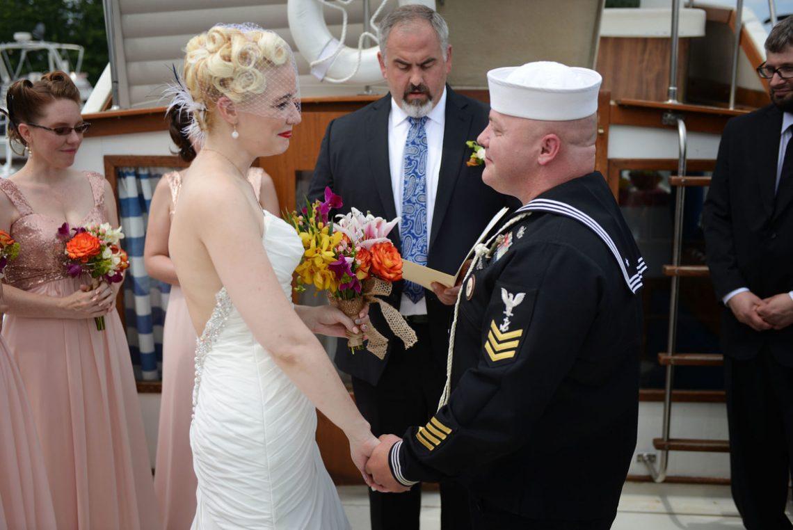 Weddings S&J Boat Ceremony