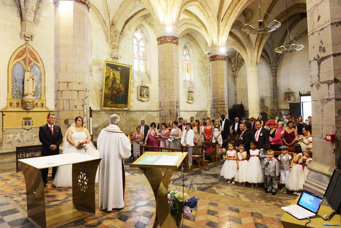 Wedding L&C church