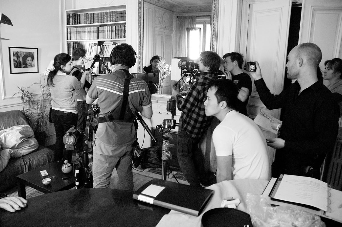 L'Américain Day 1 Behind the scenes