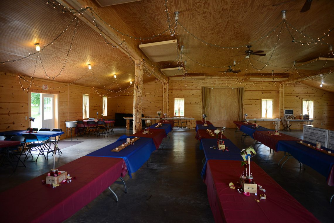 Weddings S&T The reception barn