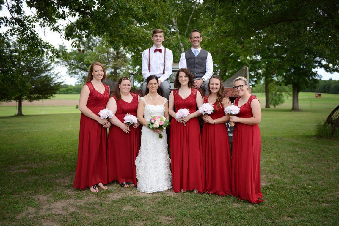 Weddings S&T wedding party
