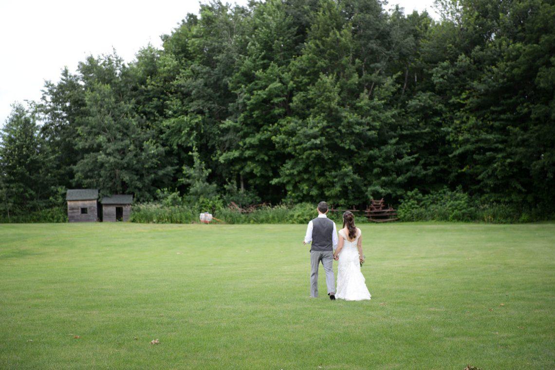 Weddings S&T walking away