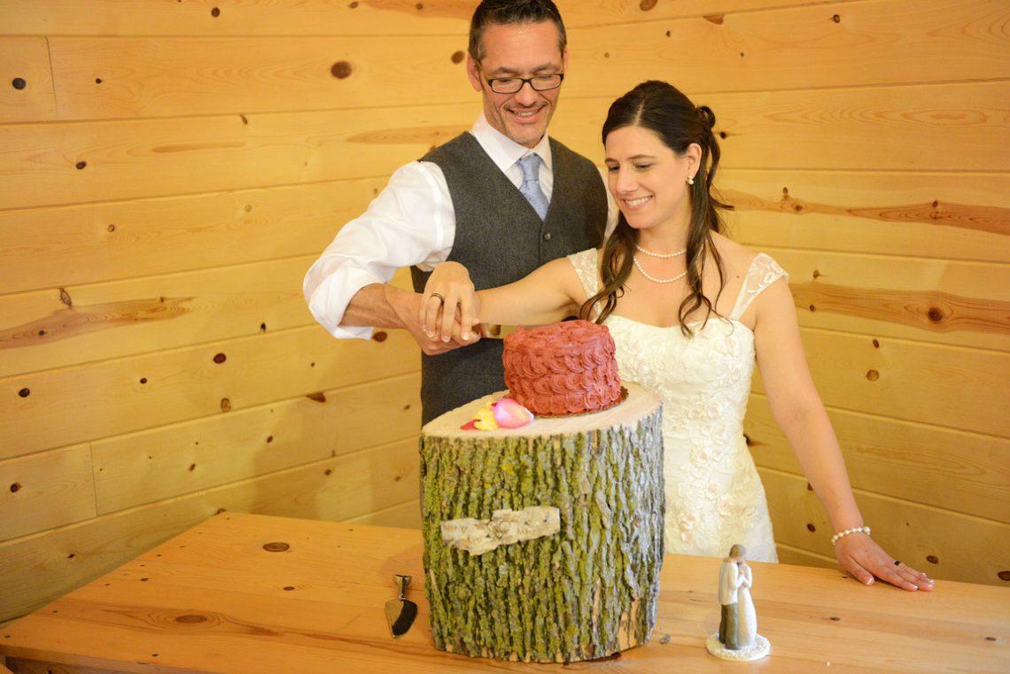 Weddings S&T Cutting the cake