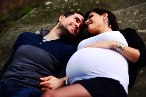 Couple photo-shoot 2 years after the Wedding • Patricia is pregnant
