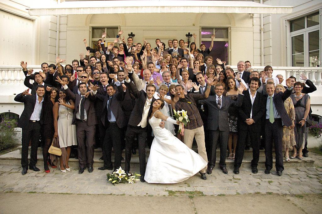 Wedding A&F Group Photo