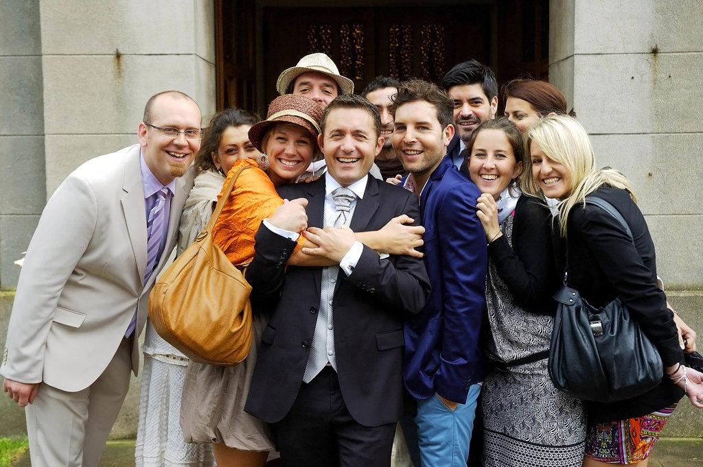 Wedding M&S Group Photo