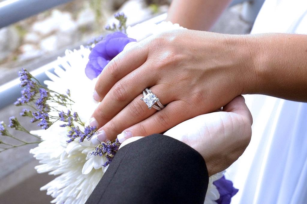 Wedding T&R the ring