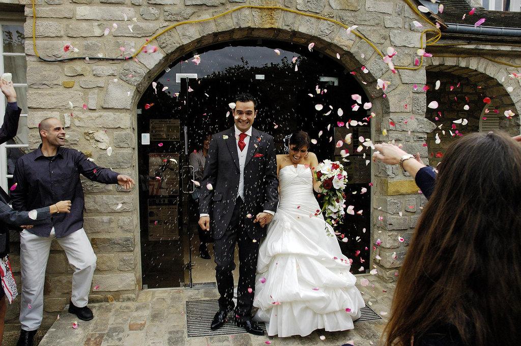 Wedding P&S Rose Petals