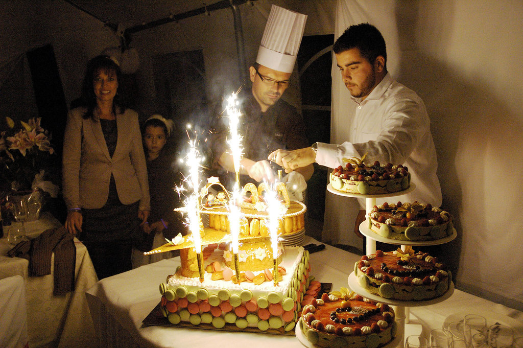 Wedding P&S Cake
