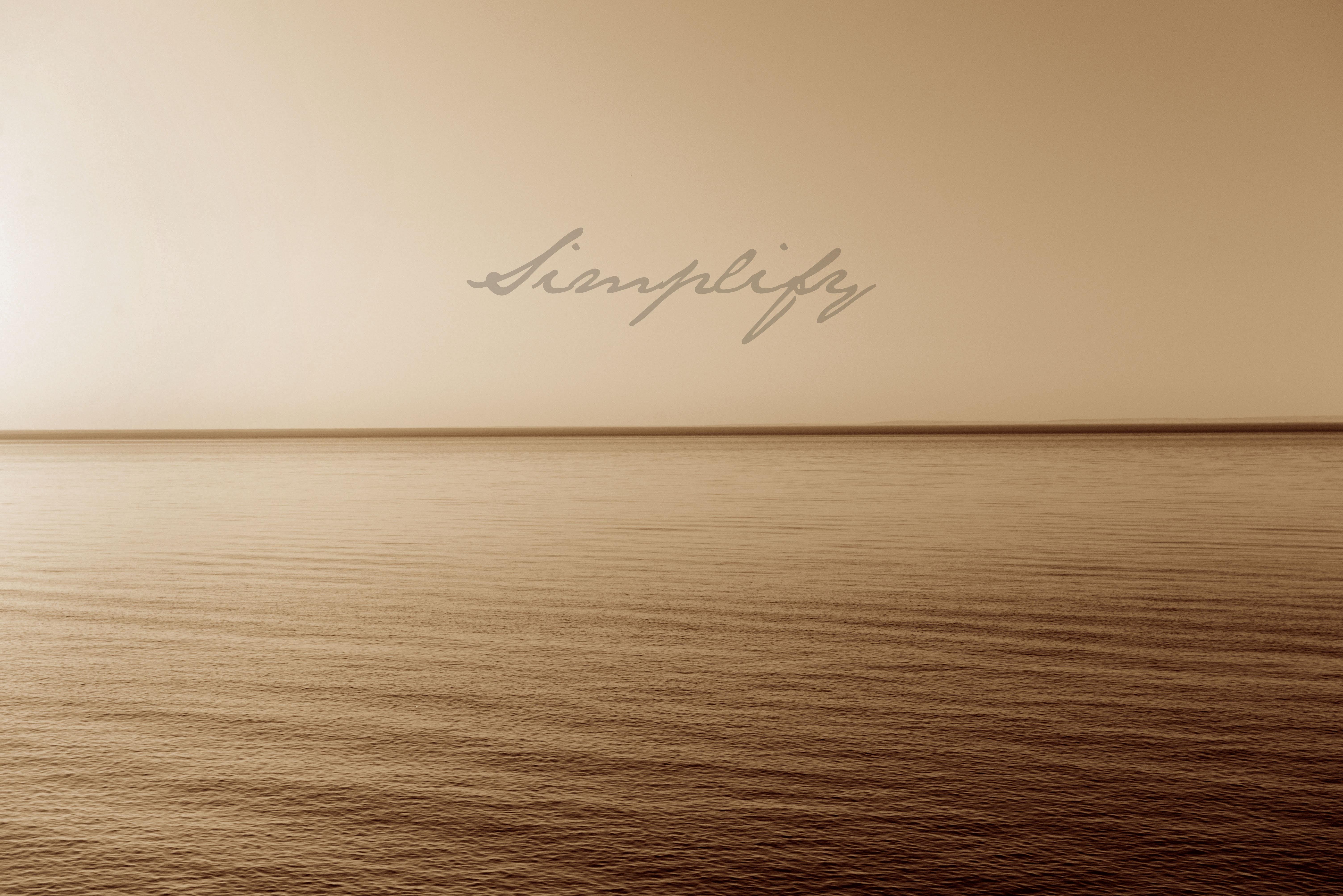 SIMPLIFY—