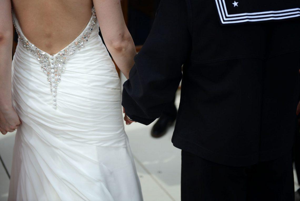 Weddings S&J ceremony holding hands